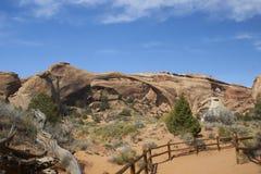 łękowaty krajobraz Zdjęcia Stock