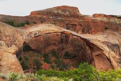 łękowaty krajobrazowy Utah zdjęcie stock