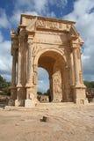 łękowaty leptis Libya magnumów septimius severus Obraz Royalty Free