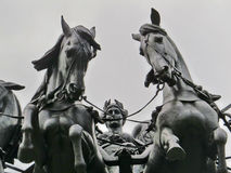 łękowaty London Wellington Obrazy Royalty Free