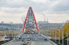 Łękowaty most Zdjęcie Stock