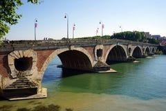 Łękowaty most obrazy stock