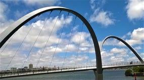 Łękowaty most w zachodniej australii obrazy royalty free