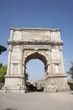 łękowaty Rome titus triumf Zdjęcia Royalty Free