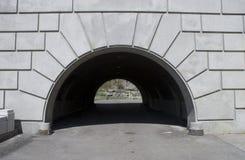 łękowaty tunel Fotografia Stock