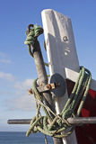 łęku łódkowaty połów Obraz Stock
