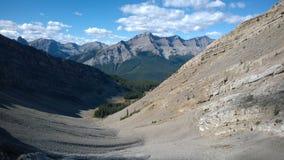 Łęku Banff dolinni kolory jesień spadają kaskadą amfiteatr Obrazy Royalty Free