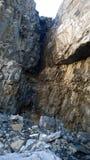 Łęku Banff dolinni kolory jesieni siklawa spadają kaskadą amfiteatr Obraz Stock