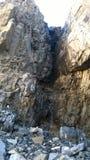 Łęku Banff dolinni kolory jesieni siklawa spadają kaskadą amfiteatr Zdjęcie Royalty Free