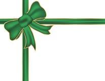 łęku bożych narodzeń zieleń Fotografia Royalty Free