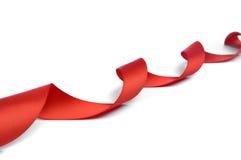łęku czerwieni faborek Obraz Stock