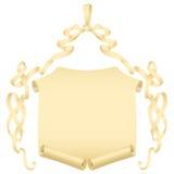 łęku grunge papieru tasiemkowa ślimacznica Zdjęcia Royalty Free