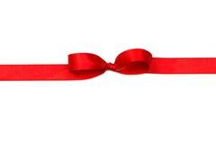 łęku ilustracyjny czerwony faborku wektor Zdjęcia Royalty Free