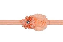 łęku ilustracyjny pomarańczowy faborku wektor isolate Zdjęcia Royalty Free
