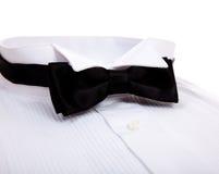 łęku koszulowy krawata smoking Fotografia Stock