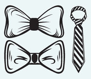 Łęku krawat Fotografia Stock