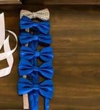 Łęku krawat Zdjęcie Royalty Free