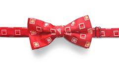 Łęku krawat odizolowywający na białym tle Fotografia Stock