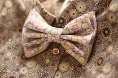 łęku krawat retro stylowy Zdjęcie Royalty Free