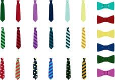 Łęku krawata wektor Zdjęcia Royalty Free