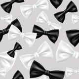 Łęku krawata wzór Zdjęcia Stock