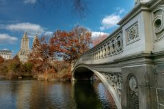 Łęku most Obraz Royalty Free
