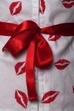 łęku prezent Zdjęcie Royalty Free