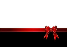 łęku prezenta czerwień royalty ilustracja