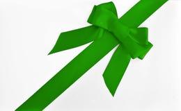 łęku prezenta zieleni opakowanie Obraz Stock