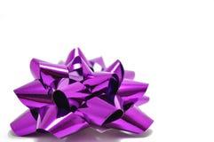 łęku purpur faborek Obraz Royalty Free