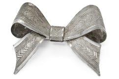 łęku srebro Zdjęcia Royalty Free
