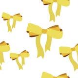 Łęku tasiemkowy krawat Zdjęcie Royalty Free
