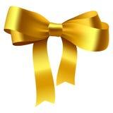 łęku złoto Obrazy Royalty Free