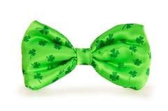 łęku zieleni krawat Obraz Royalty Free