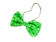 łęku zieleni krawat Zdjęcia Royalty Free
