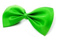 łęku zieleni krawat Obrazy Royalty Free
