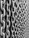 Łańcuchów szczegóły w Budapest Obraz Stock
