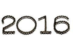 2016 łańcuch Obraz Stock