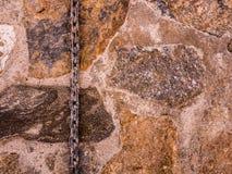 Łańcuch dalej stonewall zdjęcie royalty free