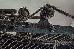 Łańcuch i przekładnie obraz stock