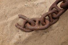 Łańcuch i słaby połączenie Obrazy Stock