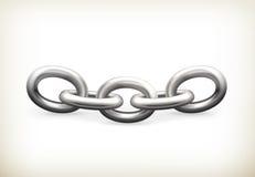 Łańcuch, ikona royalty ilustracja