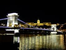 łańcuch mostu Fotografia Royalty Free