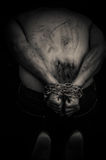 Łańcuch ręki mężczyzna obraz royalty free