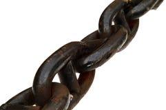 łańcuch rdzewiejący Zdjęcia Royalty Free