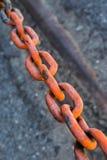 łańcuch rdzewiejący Obraz Stock