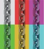 Łańcuchy z Obyczajowymi muśnięciami Obraz Royalty Free