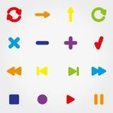 łańcuszkowa ikona kędziorka sieć Obraz Stock