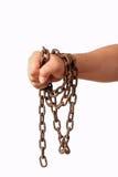 łańcuszkowa ręka Zdjęcie Stock