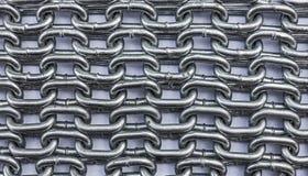 Łańcuszkowe tekstury Fotografia Stock